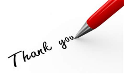 How to Write a Thank You Letter - Moceanic