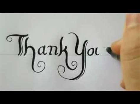 Write a thanks letter